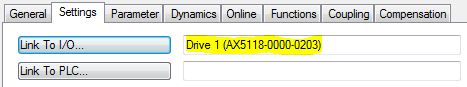 03 Linking Axis to Drive
