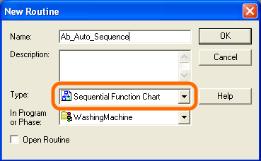 RSLogix 5000 Tutorial - New Sequential Function Chart (SFC) Routine