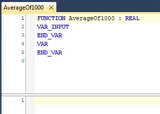 02 Empty AverageOf1000 Function