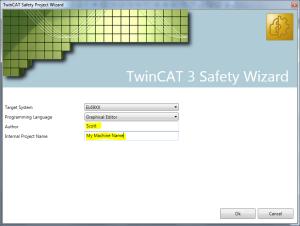 03 TwinCAT 3 Safety Wizard