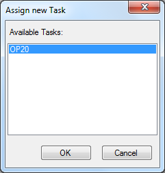 19 Assign new Task dialog