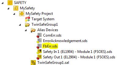 19 FbErr alias device added