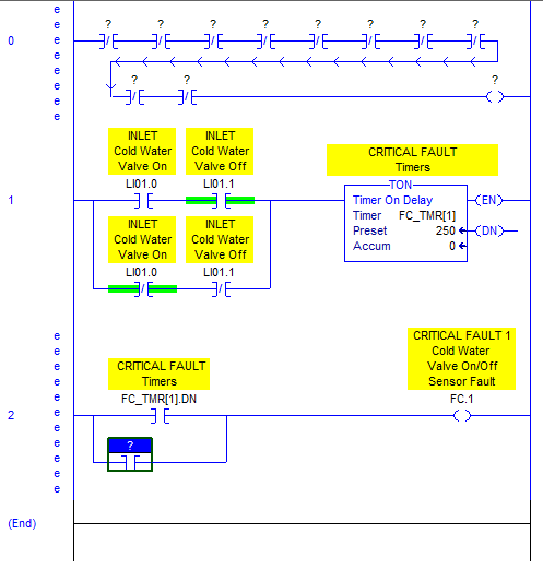 RSLogix 5000 Tutorial - Seal In Fault - Branch