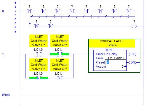 RSLogix 5000 Tutorial - TON Instruction - Preset