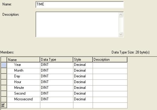 RSLogix 5000 - Read System Time - UDT